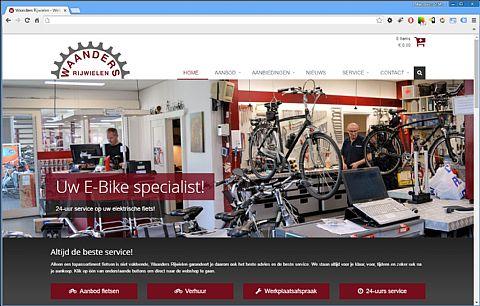Nieuwe website in aanbouw